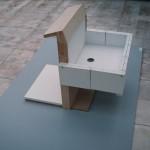 R.Rychter, FONTANNA obiekt, 2006 r. 60x60x80 cm
