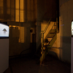 Antypody instalacja wideo PUNKT BEZJA Galeria Arsenał wBiałymstoku 2013