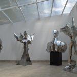 A.Myjak, Figury stalowe, Galeria wZalesiu 2016